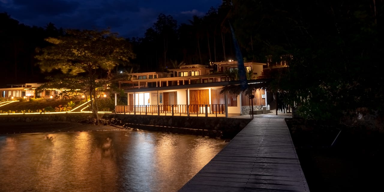 Our resort on Lembeh