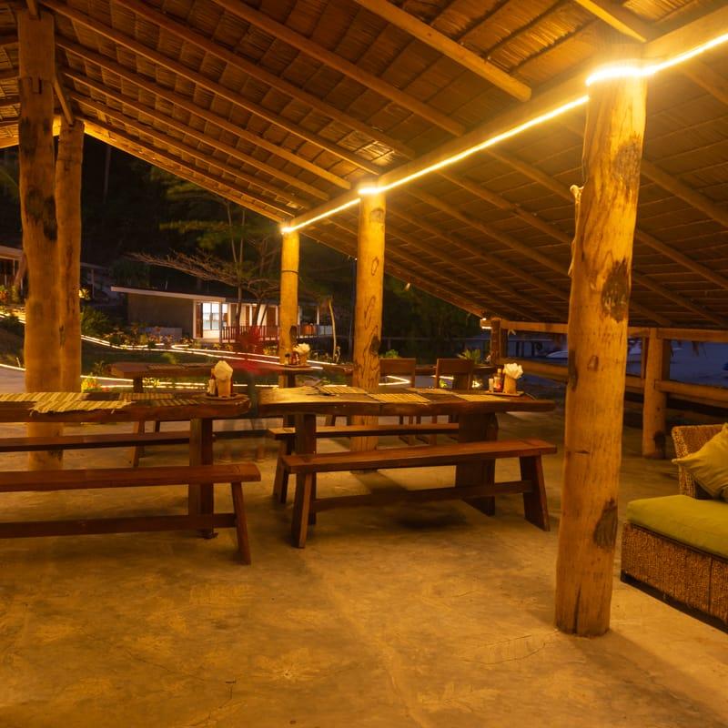 The Sabar lounge at Lembeh